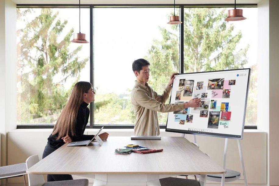 Microsoft Surface Hub 2 - CapVisio