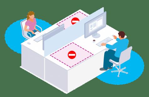 Solution de gestion de bureaux - Condeco